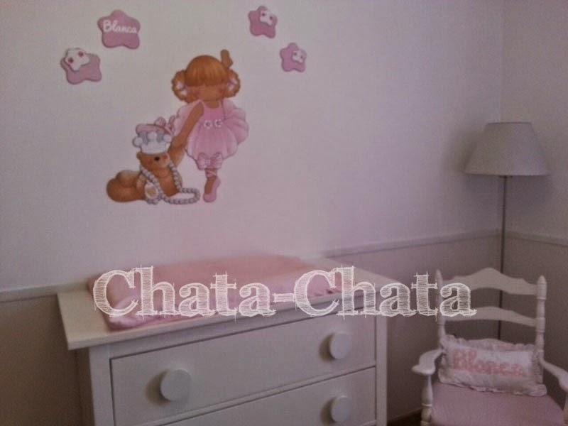 Chata chata decoraci n infantil habitaci n de blanca for Decoracion habitacion blanca