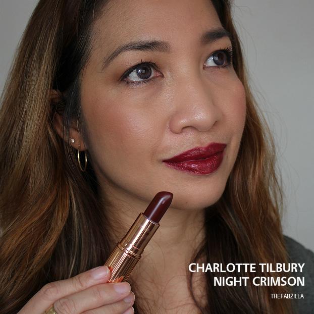 charlotte tilbury night crimson