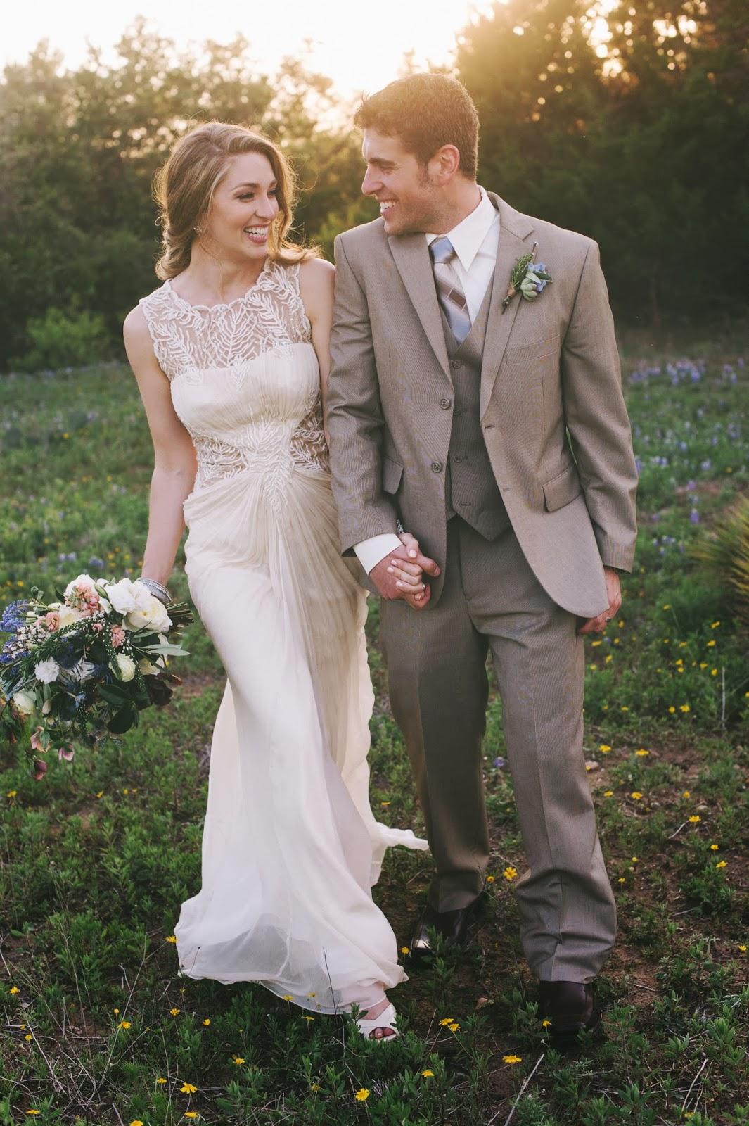 bluebonnets wedding
