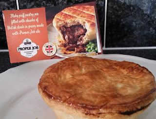 Tesco Steak and Proper Job Ale Pie Review