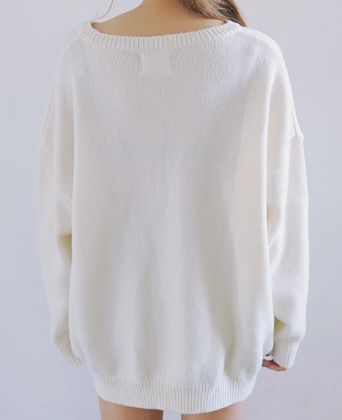 Not Square Knit Pullover