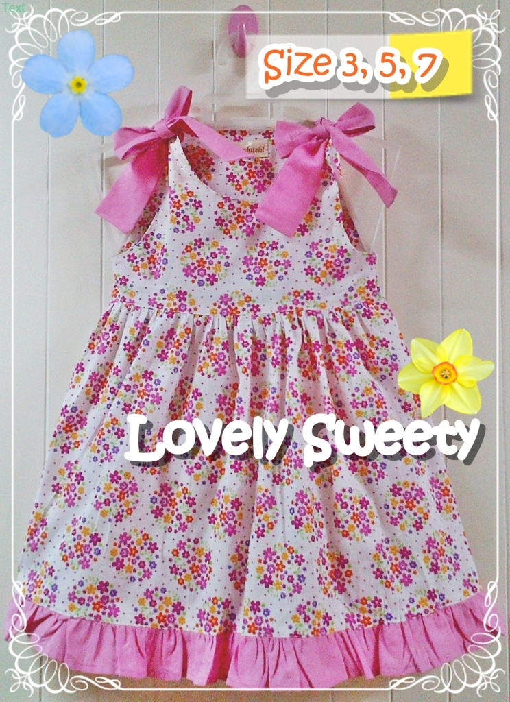 BAJU ANAK PEREMPUAN LOVELY