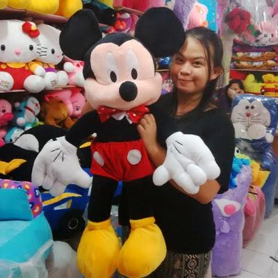 jual boneka mickey mouse besar lucu