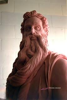 "pierre rouzier_Atlantis (BA) - ""neptune"" statue"