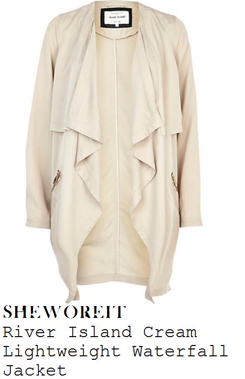sam-faiers-camel-beige-cream-long-sleeve-zip-detail-waterfall-jacket
