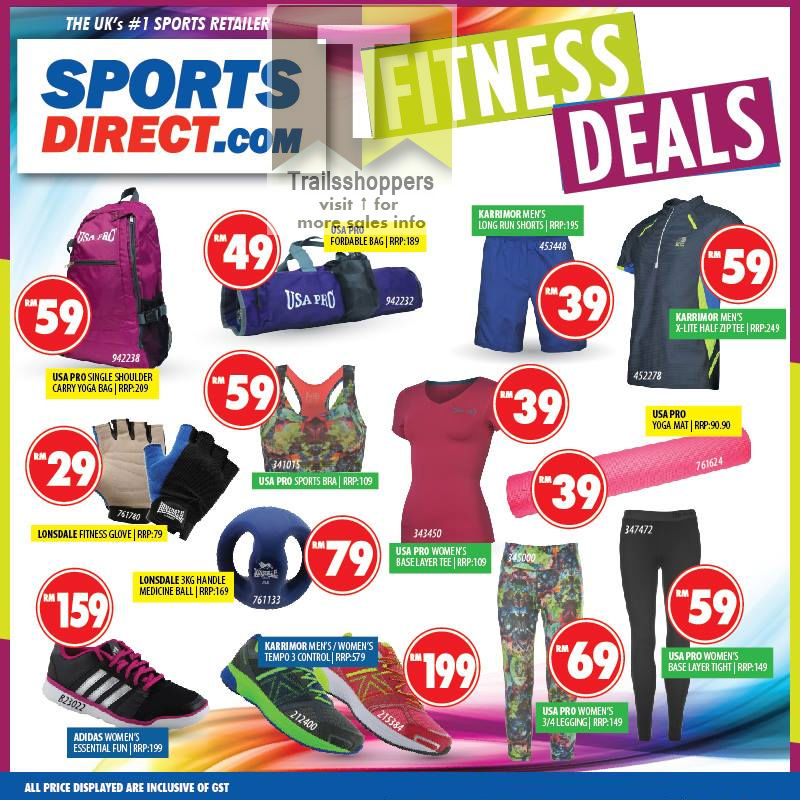 Sports Direct.com Malaysia Fitness Deals 2016