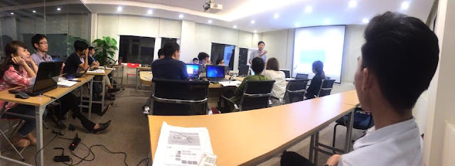 Chào đón học viên khoá đào tạo seo K43 1