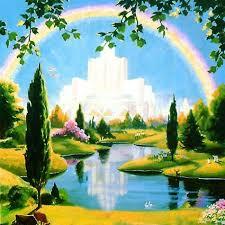 manusia terakhir ke surga, ilustrasi gambar surga