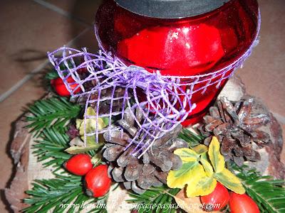 http://handmade-decoupage-pasja.blogspot.com/2013/11/stroiki-ze-zniczami.html