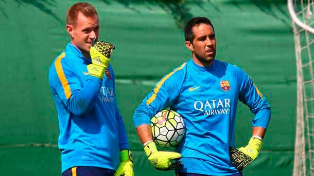 Con Bravo y Ter Stegen, la portería del FC Barcelona vuelve al mejor nivel