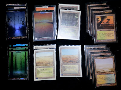 Basic Lands, Dual Lands, & Sac Lands
