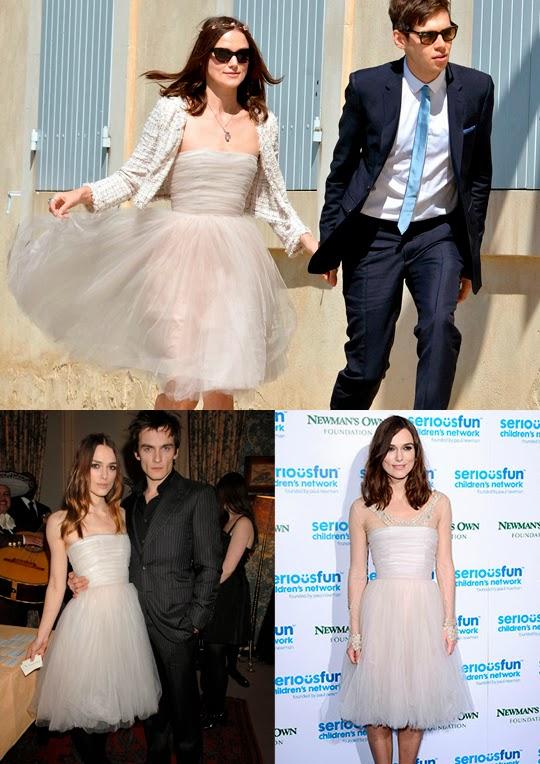 Keira Knightley vestido de novia