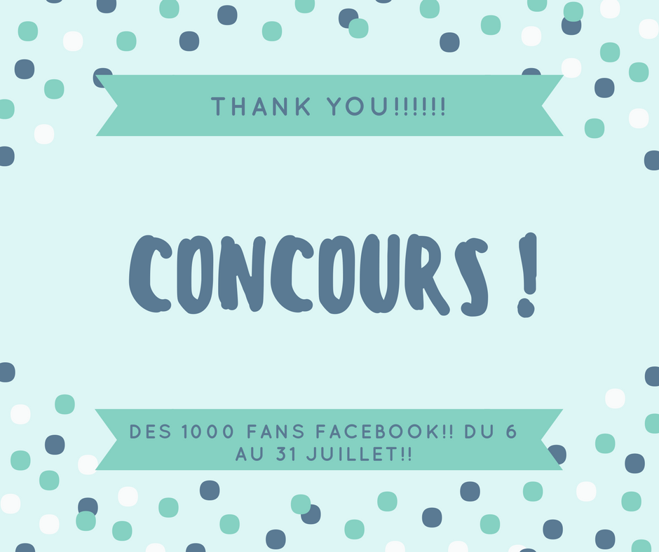 CONCOURS 1000 LIKE FACEBOOK