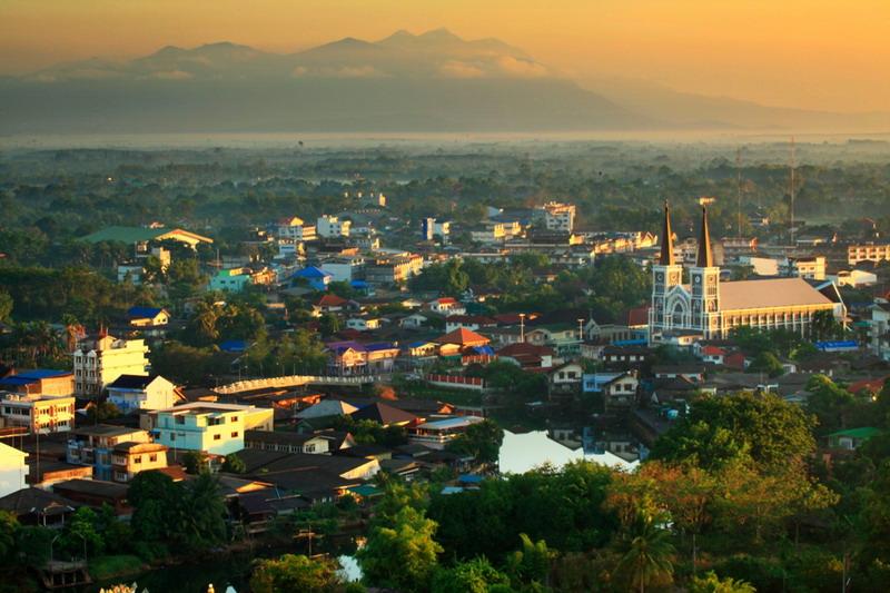 Chanthaburi Thailand  city images : Thailand Cathedral Catholic Chanthaburi