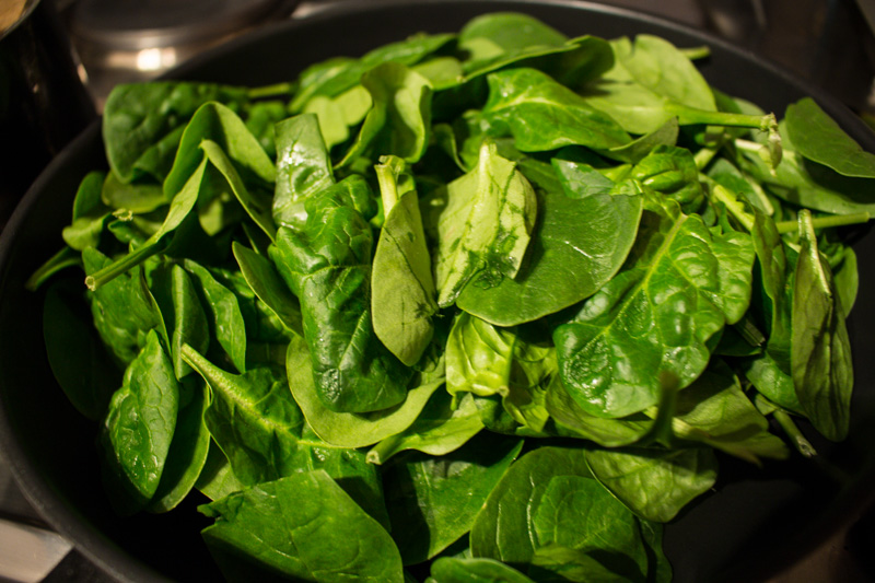 Fresh baby spinach leaves | Svelte Salivations