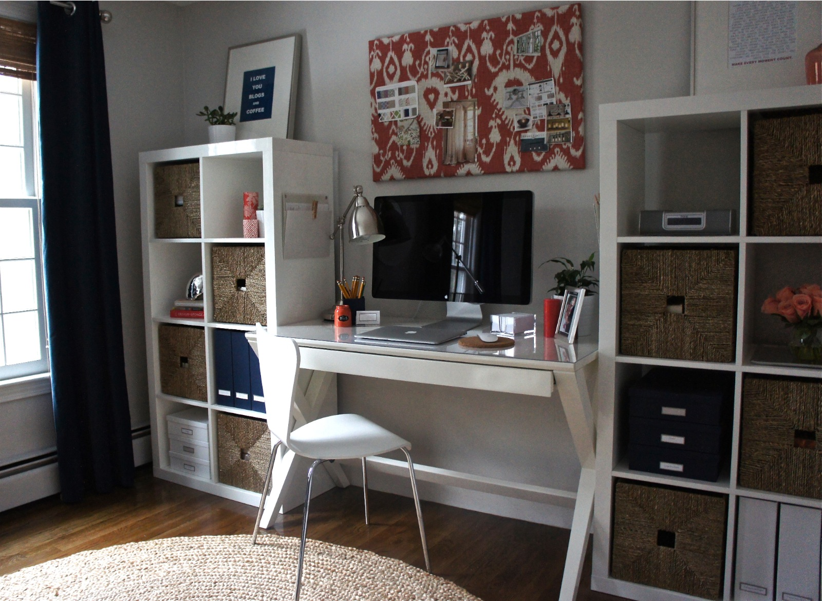Home with baxter january 2013 - Container store home office ...