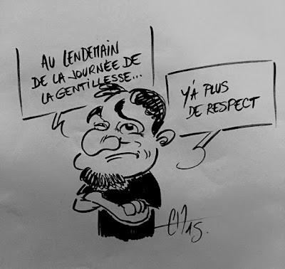 Le respect a disparu - Guillaume Néel ©