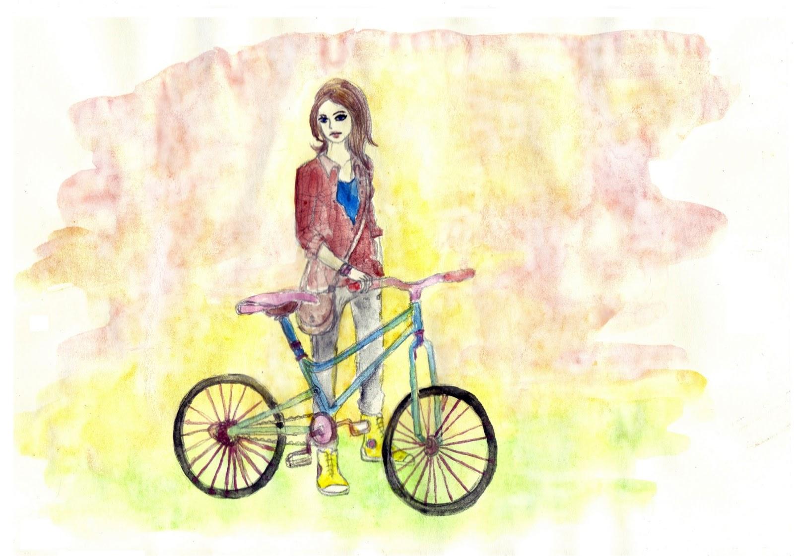 cum să mergi pe bicicletă