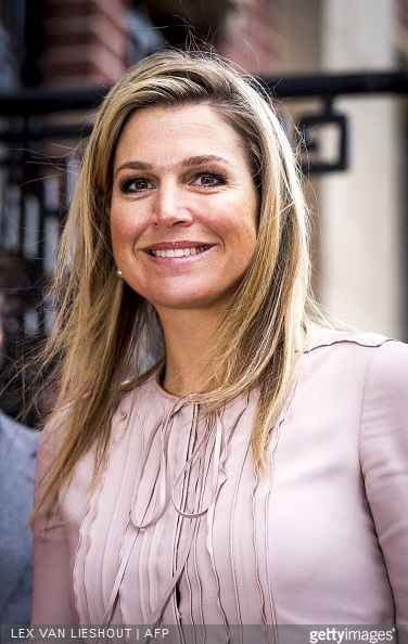 Dutch Queen Maxima, honorary president of platform Wiser in money matters looks on prior the Nibud Jubilee Congress in the Munt building in Utrecht,