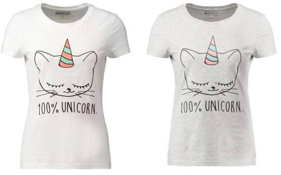 Camisetas Unicornios Zazzlees