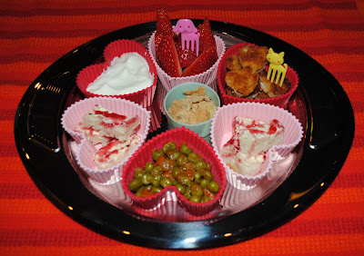 muffin tin valentine's theme