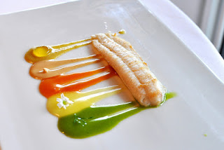 photo image of a signature dish at El Celler de Can Roca, undeniably the best restaurant in the world.