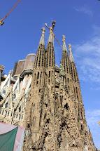 Famous Buildings Barcelona Spain
