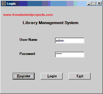 Library management system free student projects for Table design of library management system