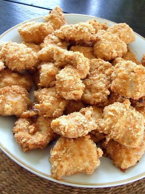 Kurczak w krakersowej panierce