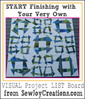 Start 2016 with a Vision of Finishing Quilts!