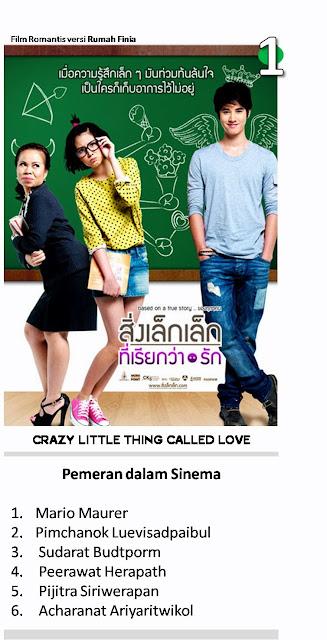 5 Film Paling Romantis : 1. First Love ( Crazy Little