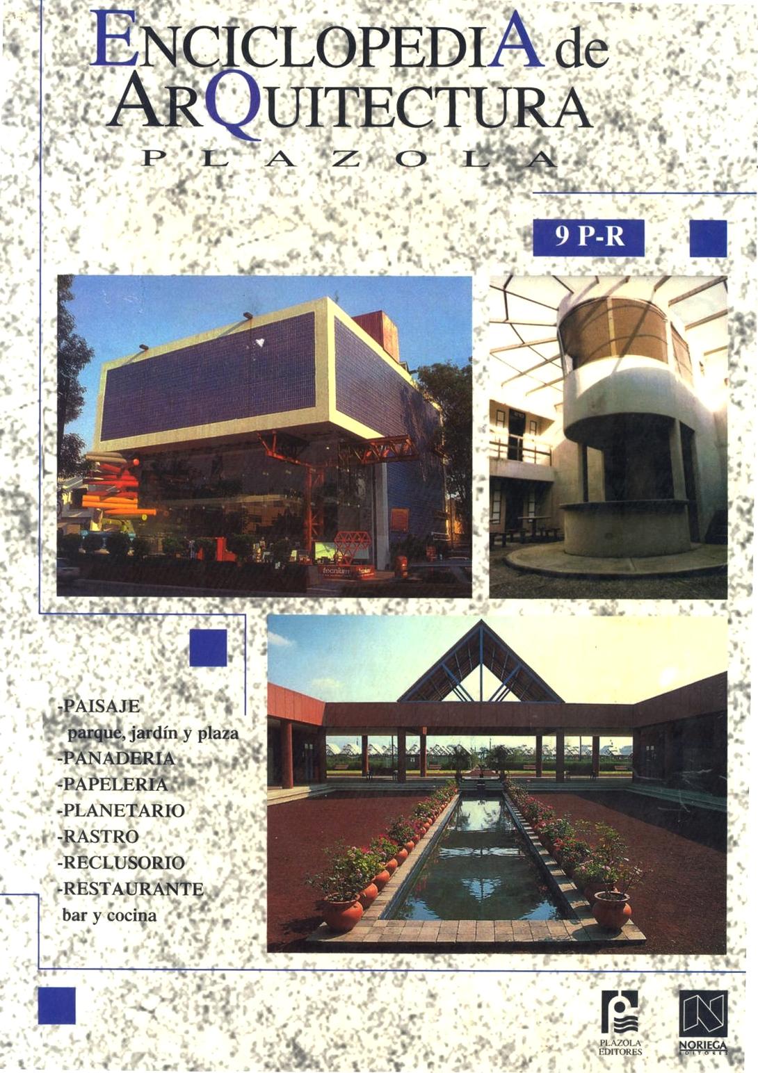 Novedades Sti Enciclopedia De Arquitectura Plazola