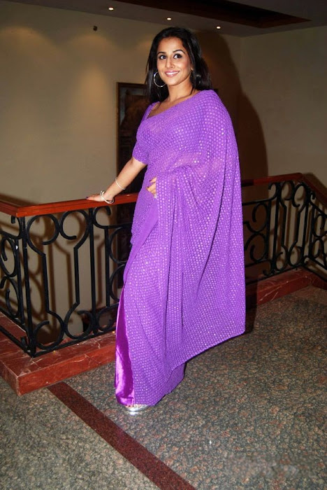 vidya balan in transparent sareeat star plus saas bahu saasish  photo gallery