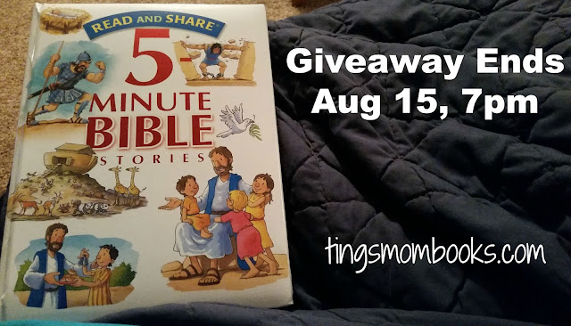giveaway five minute bible stories