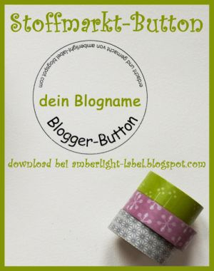 Blogger-Button-Vorlage bei Amberlight