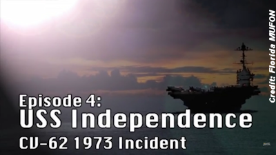 USS Independence UFO Incident –  1973