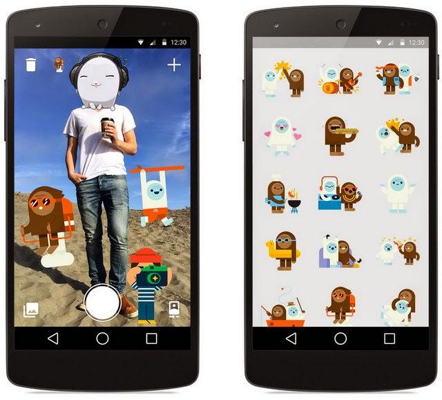 Stickered for Messenger تطبيق فيسبوك لإضافة الملصقات على الصور لأندرويد.