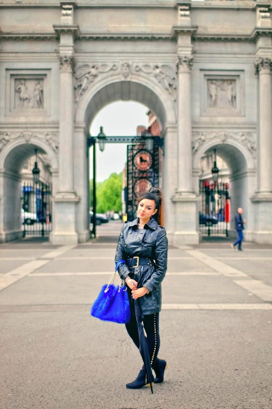 OOTD - All Black   London Trip