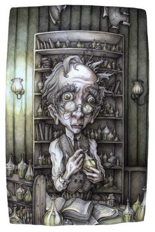 11-Dr-Henry-Jekyll-Adam-Oehlers-Illustrations-and-Drawings-from-Oehlers-World-www-designstack-co