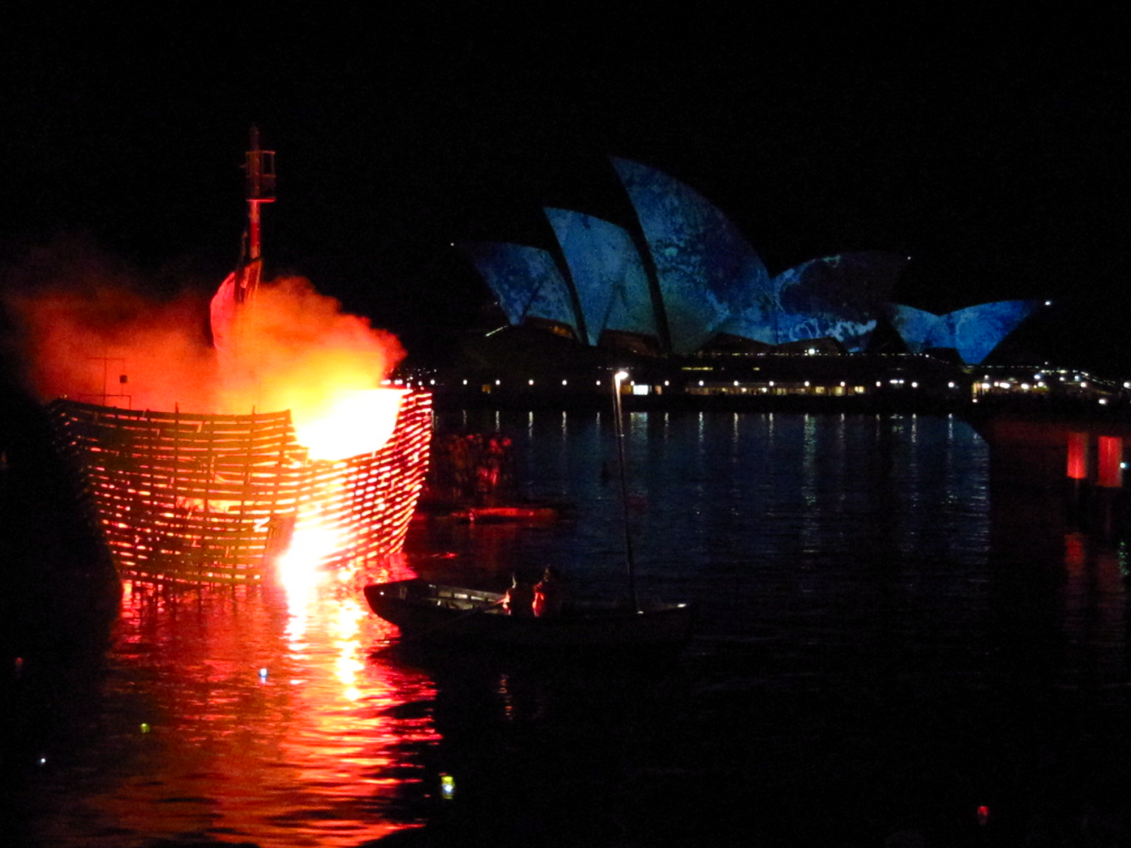 IMG 0809 - Get Sydney Opera House Fire Photos  Pics