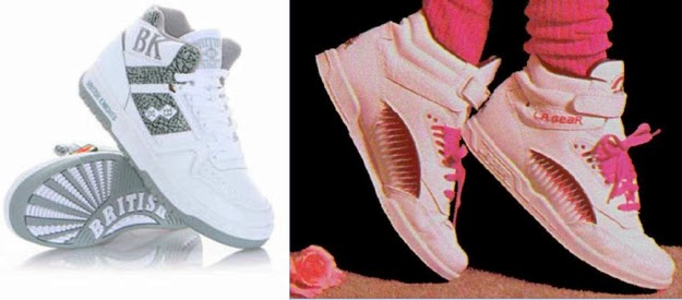 That British Knights and L.A. Gear made the coolest shoes