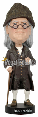 Ben Franklin Royal Bobbles Bobblehead