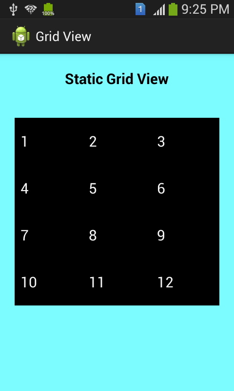 GridView Android App
