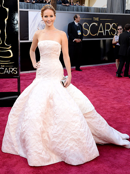Jennifer Lawrence Oscars dress, Dior