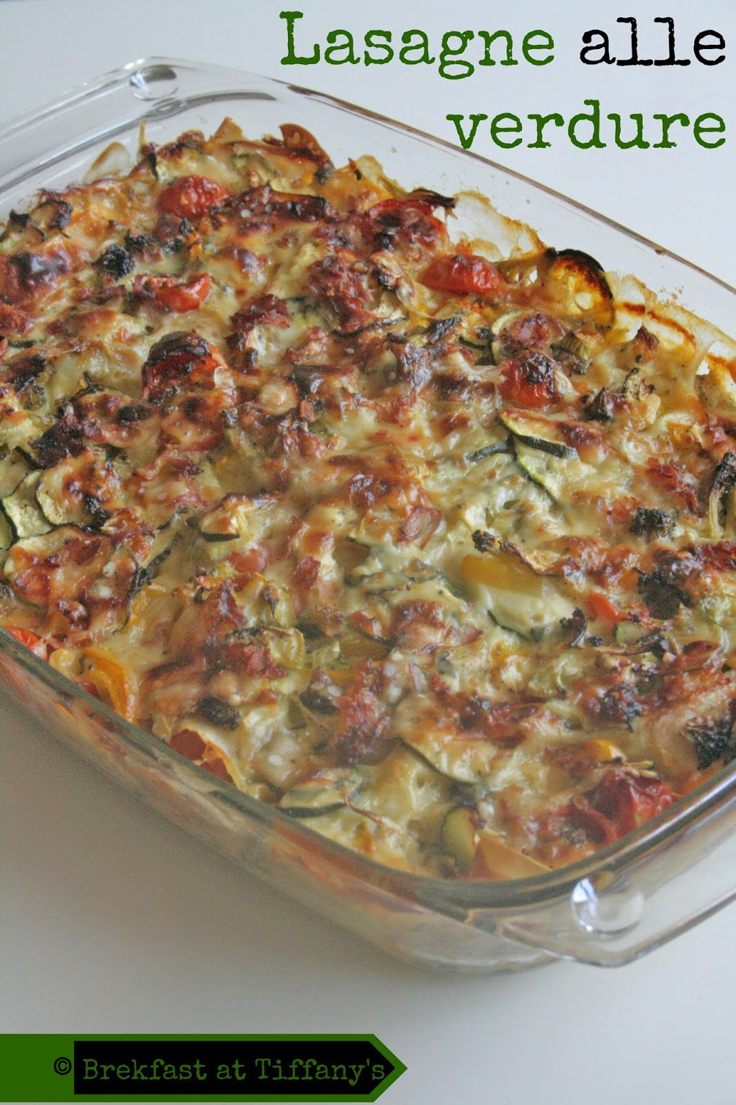lasagne alle verdure / vegetables lasagne
