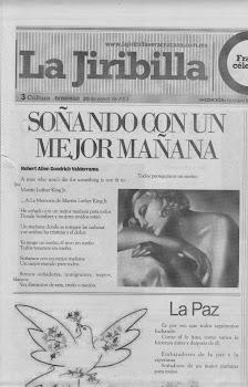 Publicación de mi poema en México
