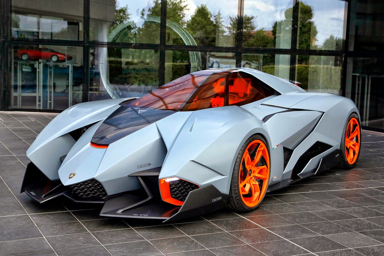 Lamborghini Concept 2013 Egoista FAB WHEELS DIGEST (F.W...
