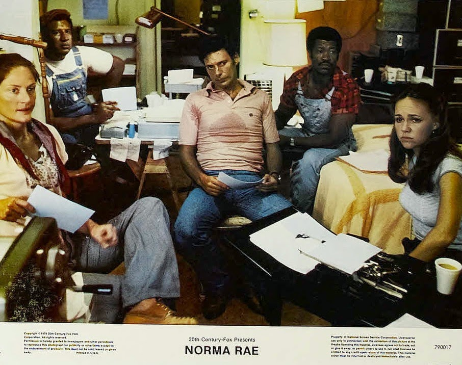 norma rae essay Norma rae: mike hoffman wrote, resisting deportment from the mill where she and her family have worked all their lives, field's character scrawls the word union on a board and scrambles onto a table.
