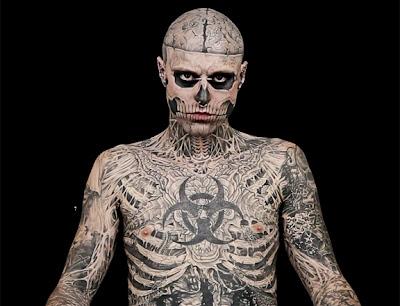 Zombie Boy นายแบบที่มีรอยสักทั่วตัว