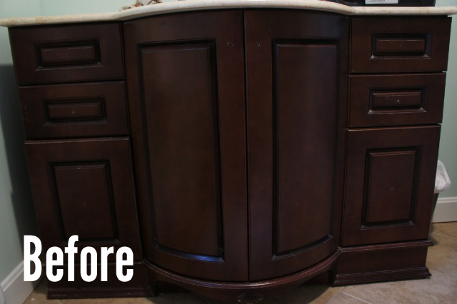 Bathroom Vanity Paint Colors home with baxter: painted bathroom vanity - reveal and tutorial